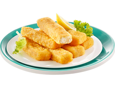 32 � 35 b�tonnets pan�s, pr�frits de filets de poissons blancs - 1 kg