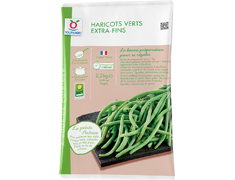 Haricots verts extra-fins - 2,5 kg