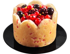 Charlottes aux fruits rouges - 2 x 80 g