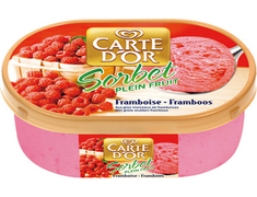 Sorbet plein fruit framboise Carte d'Or® - 670 g