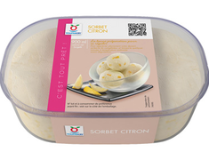 Sorbet citron - 545 g / 900 ml