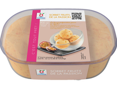 Sorbet fruits de la passion - 585 g