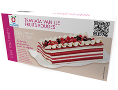 Traviata vanille fruits rouges - 376 g