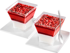Verrines glacées fruits rouges - 2 x 94 g