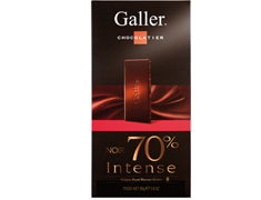 Tablette Noir Intense 70% - 80 g