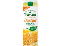 Douceur orange avec pulpe - 1 l