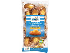 13 grosses madeleines coquille d'Armor pur beurre Armor Délices - 430 g