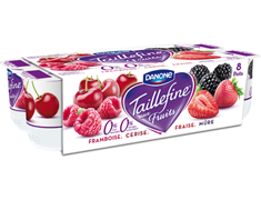 Taillefine fruits rouges Danone - 8 x 125 g