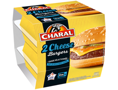 Cheese Burgers Charal - 2 x 145 g