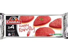 4 pièces de boeuf extra tendres, Happy Family - 350 g