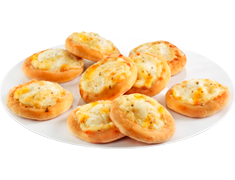 9 mini-pizzas 3 fromages - 250 g