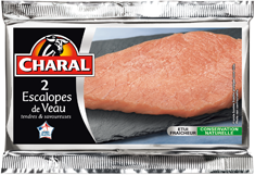 2 escalopes de veau