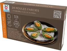 24 moules farcies - 2 x 12