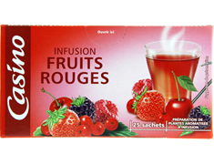Infusion fruits rouges - 37,5 g