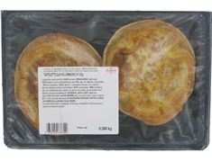Quiches lorraines pur beurre - 2 x 120 g