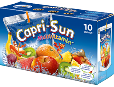 Jus de fruits Capri-Sun multivitamines - 10 x 20 cl