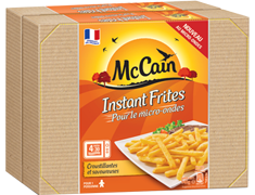 "Frites au micro-ondes ""Instant Frites McCain"" - 2 x 140 g"