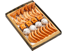Assortiment de 30 pâtisseries orientales - 430 g