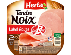 Tendre Noix Label Rouge 2 tranches Herta - 70 g
