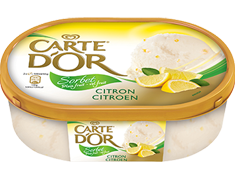 Sorbet plein fruit citron Carte d'Or® - 650 g