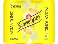 Schweppes Indian Tonic - 6 x 33 cl