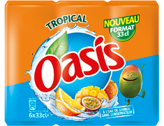 Oasis tropical - 6x33cl