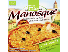Pizza 3 fromages BIO - 380 g