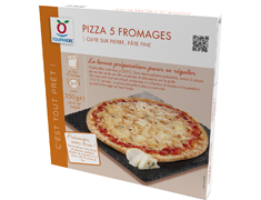 Pizza 5 fromages - 350 g
