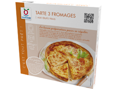 Tarte aux 3 fromages - 400 g