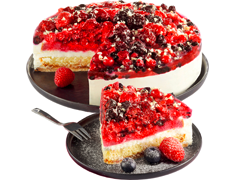 Entremets aux fruits rouges - 1,2 kg