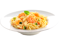 Spaghetti aux gambas et légumes Weight Watchers - 350 g