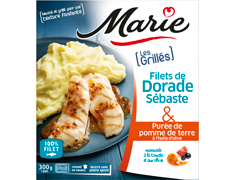 Filets de dorade grillés Marie - 300 g