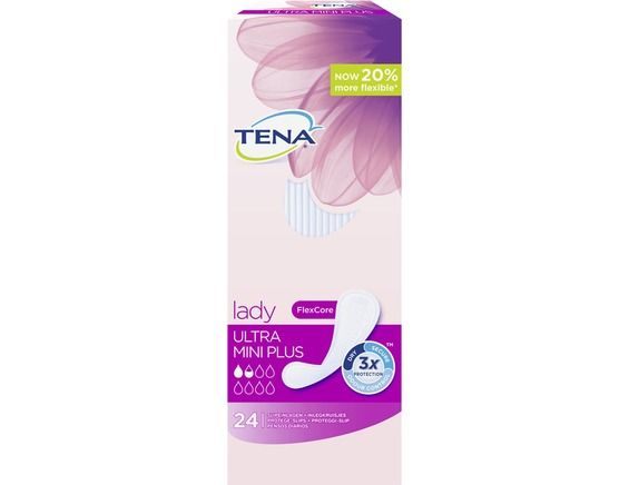 24 protèges slips Tena Lady Ultra Mini Plus