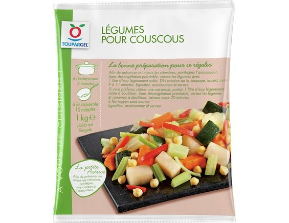 l gumes surgel s pour couscous 1 kg livr chez vous par. Black Bedroom Furniture Sets. Home Design Ideas