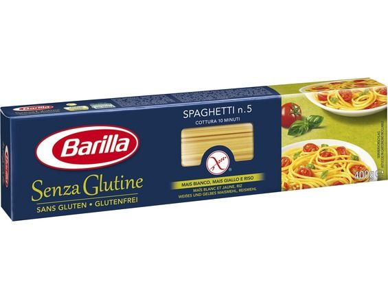 p tes spaghetti barilla n 5 sans gluten 400 g barilla livr par. Black Bedroom Furniture Sets. Home Design Ideas