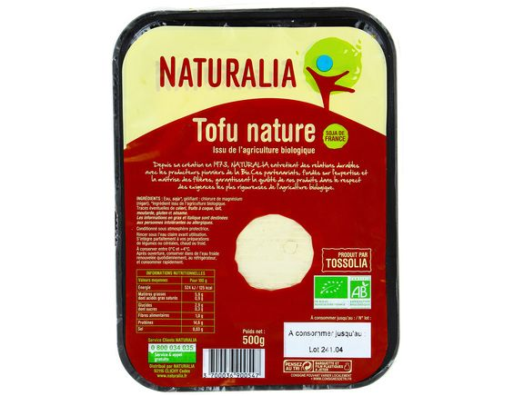 Tofu nature BIO Naturalia - 500 g
