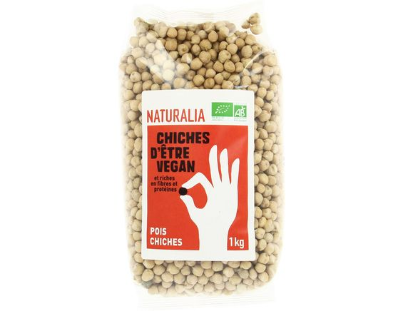 Pois chiches BIO Naturalia - 1 kg