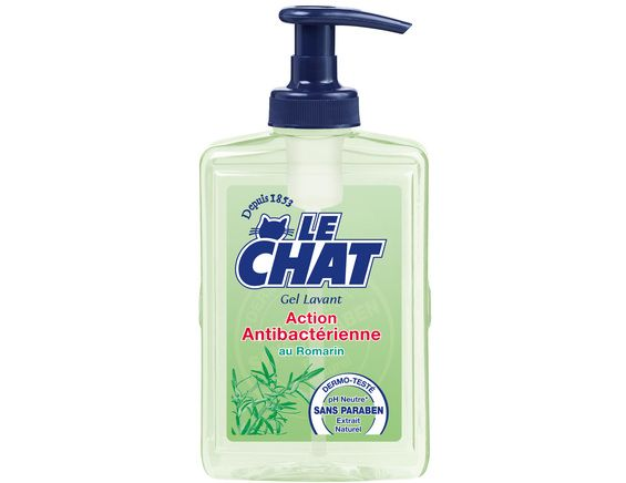 Le Chat gel lavant main anti-bactérien - 500 ml