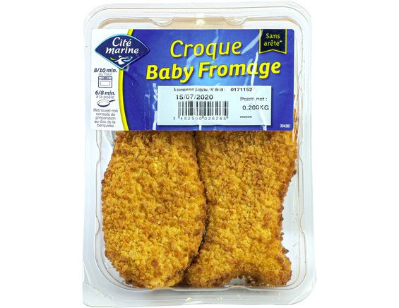 2 croques Baby fromage - 200 g