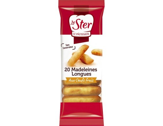 Madeleines longues Le Ster - 250 g
