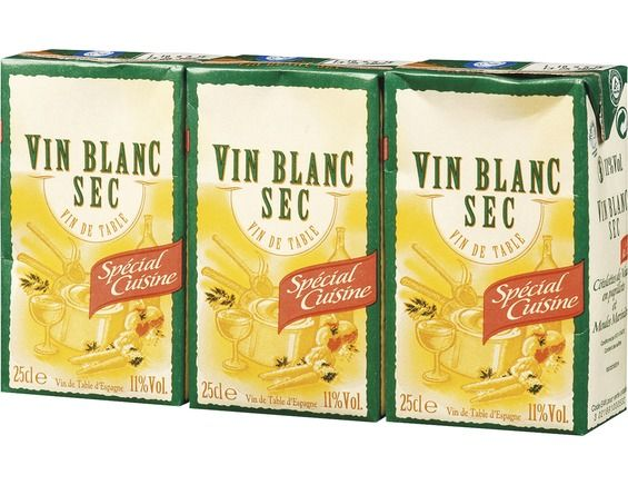 Vin de table blanc - 3 x 25 cl
