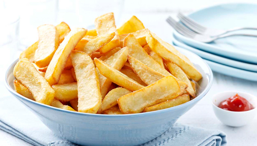 Frites « coupe large » - Recette Actifry