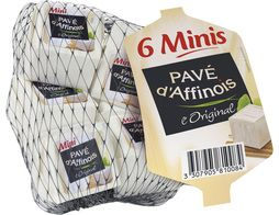6 mini Pavé d'Affinois L'Original - 180 g
