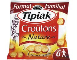 Croûtons nature croustillants Tipiak - 125 g