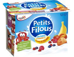 Petits Filous Yoplait - 12 x 50 g