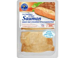 2 croustillants au saumon - 200 g