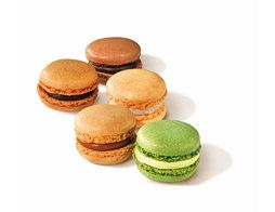Assortiment de 10 macarons gourmands - 135 g