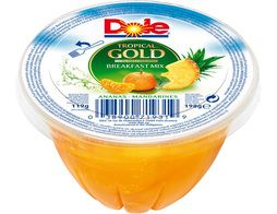 Coupelle ananas mandarines Dole - 198 g