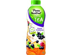 Green tea cassis framboises Pierre Martinet - 1 l