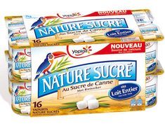 Yaourt nature sucré Yoplait - 16 x 125 g